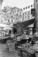 Palermo, mercato Vucciria --- Palermo, Vucciria Market