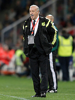 Spain's coach Vicente del Bosque during 15th UEFA European Championship Qualifying Round match. November 15,2014.(ALTERPHOTOS/Acero) /NortePhoto nortephoto@gmail.com
