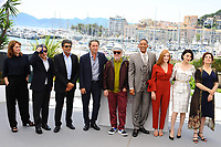 WILL SMITH - JESSICA CHASTAIN - MAREN ADE - PARK CHAN-WOOK - GABRIEL YARED - PAOLO SORRENTINO - PEDRO ALMODOVAR - FAN BINGBING - AGNES JAOUI - CANNES 2017 - PHOTOCALL DU JURY