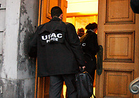 Descente de l'UPAC a l'Hotel de Ville de Montreal, le 19 Fevrier 2013<br /> <br /> PHOTO :  Agence Quebec Presse