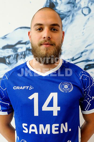 LEEK - Volleybal, Presentatie Lycurgus , seizoen 2021-2022, 01-09-2021 , Lycurgus speler Marcell Pesti