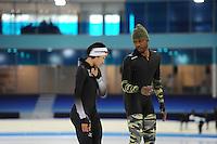 SCHAATSEN: HEERENVEEN: IJsstadion Thialf, 07-12-2016, ISU World Cup-training, Shani Davis (USA), ©foto Martin de Jong