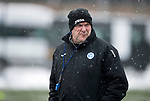 St Johnstone Training…19.01.18<br />Manager Tommy Wright pictured in training this morning at McDiarmid Park ahead of tomorrow's Scottish Cup game against Albion Rovers<br />Picture by Graeme Hart.<br />Copyright Perthshire Picture Agency<br />Tel: 01738 623350  Mobile: 07990 594431