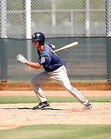 Brad Chalk / San Diego Padres 2008 Instructional League..Photo by:  Bill Mitchell/Four Seam Images