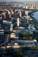 aerial view of MIT, Cambridge, MA