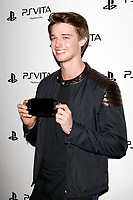 LOS ANGELES - FEB 15:  Patrick Schwarzenegger at the Sony PlayStationAE Unveils PS VITA Portable Entertainment System at the Siren Studios on February 15, 2012 in Los Angeles, CA