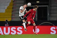 Robin Gosens (Deutschland Germany) gegen Andreas Olsen (Dänemark, Denmark) - Innsbruck 02.06.2021: Deutschland vs. Daenemark, Tivoli Stadion Innsbruck