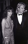 Jacqueline Bisset and Alexander Godunov attend the Friars Club honored Cary Grant as their Man of the Year on May 16, 1982 at the Waldorf Astoria in New York City.