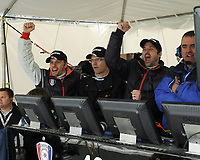 DAYTONA BEACH , FL - JANUARY 31:  Patrick Dempsey drives Dempsey Racings' No. 40 Mazda Rx8  at the Rolex 24 Hours of Daytona at Daytona International Speedway on January 31, 2010 in Daytona Beach , Florida.<br /> <br /> People:  Patrick Dempsey