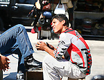 YOUNG MEXICAN SHOESHINE BOY