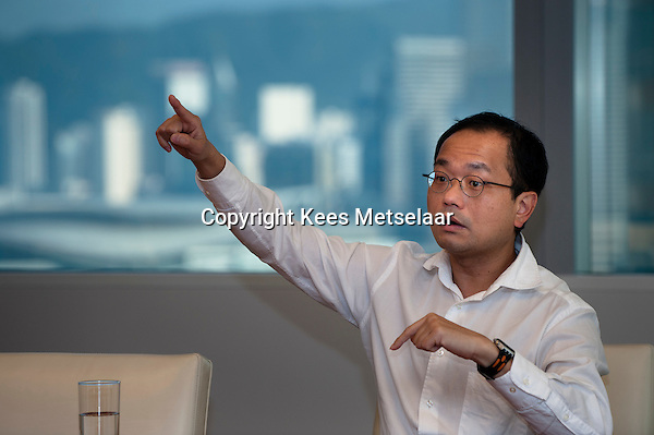 Hong Kong, 21 January 2011.<br /> Vincent Chan of Credit Suisse