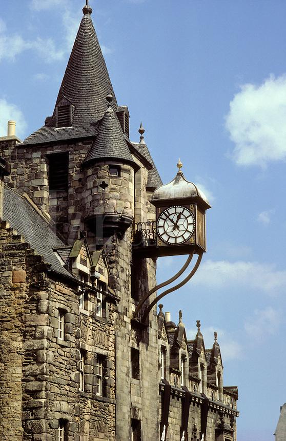 Tolbooth, Royal Mile, Edinburgh, Scotland.