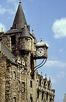 Tolbooth, Royal Mile, Edinburgh, Scotland.