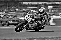 Larry Shorts, #20 Suzuki, Daytona 200, AMA Superbikes, Daytona International Speedway, Daytona Beach, FL, March 9, 1986.(Photo by Brian Cleary/bcpix.com)