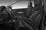 Front seat view of a 2008 - 2009 Citroen C2 VTR 3 Door Hatchback 2WD