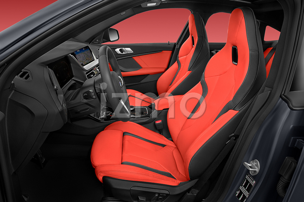 Front seat view of 2020 BMW 2-Series-Gran-Coupe M-Sport 4 Door Sedan Front Seat  car photos