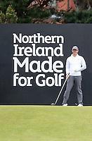 27 May 2015; Rory McIlroy on the 1st Tee<br /> <br /> Dubai Duty Free Irish Open Golf Championship 2015, Pro-Am. Royal County Down Golf Club, Co. Down. Picture credit: John Dickson / DICKSONDIGITAL