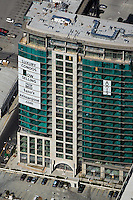 aerial photograph luxury condominiums for sale San Jose, Santa Clara county, California