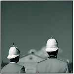 JUNE 1995    -  Sydney, Australia   -  During the opening ceremonies of the day at the  Sydney Barracks..