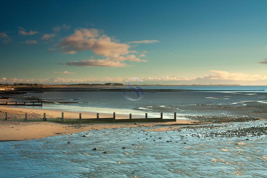 Monifieth to Buddon Ness, Tay Estuary, Tayside