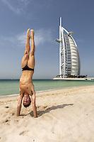 """Thomas """"Tom"""" Robert Daley tuffatore inglese. Campione del mondo nella piattaforma da 10 metri nel 2009 ai Mondiali di Roma. Bronzo Olimpico 2012 <br /> Burj Al Arab hotel Jumeira 18-03-2015 FINA/NVC Diving World Series<br /> Photo Giorgio Scala / Deepbluemedia / Insidefoto"""