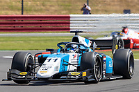 16th July 2021; Silverstone Circuit, Silverstone, Northamptonshire, England; F2 British Grand Prix, Free Practice; Richard Verschoor in his MP Motorsport Dallara F2 2018