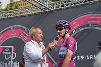 26th May 2018, Giro D italia; stage 20 Susa to Cervinia;  Quick Step - Floors; Viviani, Elia; Bertolotti, Stefano; Susa;
