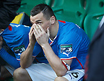 Lee McCulloch dejection
