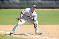 Slippery Rock Jamison Walck #5 during a game vs. the Seton Hill Griffins at Lake Myrtle Field in Auburndale, Florida;  March 5, 2011.  Seton Hill defeated Slippery Rock 14-1.  Photo By Mike Janes/Four Seam Images