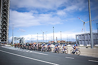 Team Total Direct Energie leading the race through the Port of Antwerp<br /> <br /> Antwerp Port Epic 2019 <br /> One Day Race: Antwerp > Antwerp 187km<br /> <br /> ©kramon