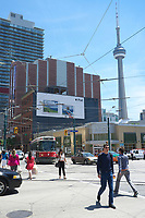 Toronto,  CANADA - File Photo - Downtown Toronto - CN Tower<br /> <br /> Photo :  Agence Quebec Presse - Pierre Roussel