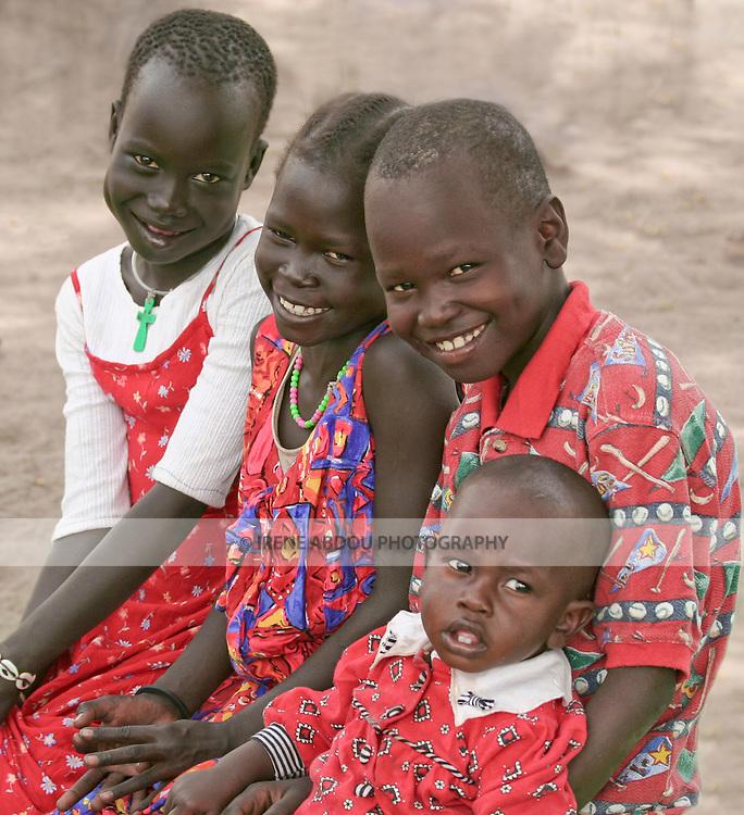Dinka children in Rumbek, South Sudan