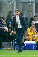 Milan, Italy - september 15 2021 - simone inzaghi f.c. inter trainer Inter- Real Madrid champions league