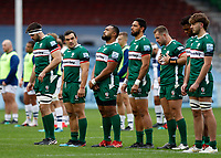 4th October 2020; Twickenham Stoop, London, England; Gallagher Premiership Rugby, London Irish versus Bristol Bears; Agustin Creevy of London Irish looks on at his teams mates during the line up before kick off
