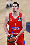 Turkish Airlines Euroleague.<br /> Final Four - Vitoria-Gasteiz 2019.<br /> Semifinals.<br /> CSKA Moscow vs Real Madrid: 95-90.<br /> Nando de Colo.