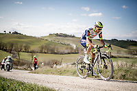 Loïc Vliegen (BEL/Intermarché - Wanty - Gobert)<br /> <br /> 15th Strade Bianche 2021<br /> ME (1.UWT)<br /> 1 day race from Siena to Siena (ITA/184km)<br /> <br /> ©kramon