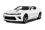 2016 Chevrolet Camaro 2SS 2 Door Coupe Angular Front stock photos of front three quarter view