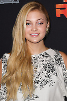 """CENTURY CITY, CA, USA - SEPTEMBER 27: Olivia Holt arrives at the Los Angeles Screening Of Disney XD's """"Star Wars Rebels: Spark Of Rebellion"""" held at the AMC Century City 15 Theatre on September 27, 2014 in Century City, California, United States. (Photo by Celebrity Monitor)"""