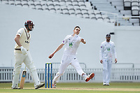 Scott Currie, Hampshire CCC in action during Surrey CCC vs Hampshire CCC, LV Insurance County Championship Group 2 Cricket at the Kia Oval on 1st May 2021