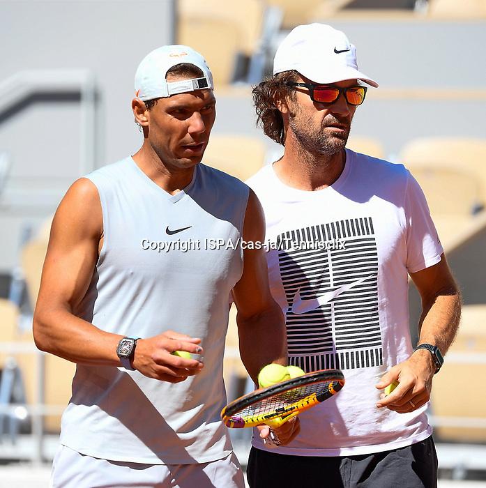 Raphael Nadal During Training Session