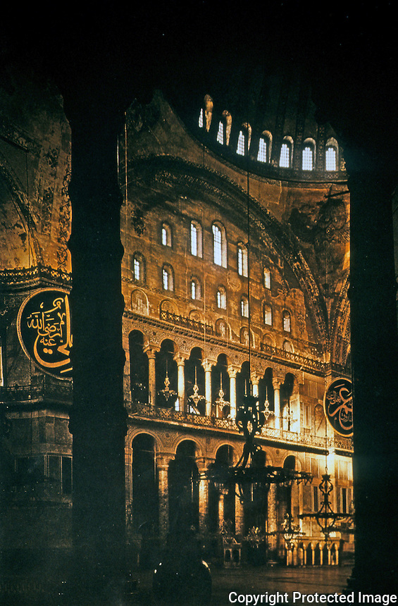 Hagia Sophia:  The Nave.