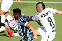 Santos (SP), 11.10.2020 - Santos-Grêmio - O jogador Jobson. Partida entre Santos e Grêmio valida pela 15. rodada do Campeonato Brasileiro neste domingo (11) no estadio da Vila Belmiro em Santos.
