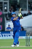 Josh Inglis of London Spirit pulls wide of long on for runs during London Spirit Men vs Trent Rockets Men, The Hundred Cricket at Lord's Cricket Ground on 29th July 2021