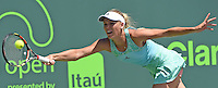 KEY BISCAYNE, FL - MARCH 30: Venus Williams defeats Caroline Wozniacki of Denmark during day 8 of the Miami Open Presented by Itau at Crandon Park Tennis Center on March 30, 2015 in Key Biscayne, Florida.<br /> <br /> <br /> People:  Caroline Wozniacki<br /> <br /> Transmission Ref:  FLXX<br /> <br /> Must call if interested<br /> Michael Storms<br /> Storms Media Group Inc.<br /> 305-632-3400 - Cell<br /> 305-513-5783 - Fax<br /> MikeStorm@aol.com