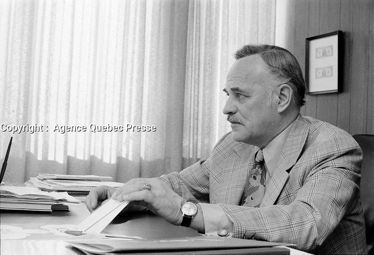 CRINO, coop agricole, fevrier 1973<br /> <br /> PHOTO :   Agence Quebec Presse - Alain Renaud