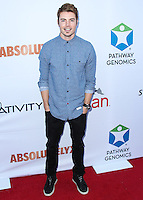 SANTA MONICA, CA, USA - JUNE 11: Josh Henderson at the Pathway To The Cures For Breast Cancer: A Fundraiser Benefiting Susan G. Komen held at the Barker Hangar on June 11, 2014 in Santa Monica, California, United States. (Photo by Xavier Collin/Celebrity Monitor)