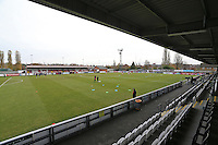 General view of the ground during Arsenal Under-19 vs Paris St Germain Under-19, UEFA Youth League Football at Meadow Park on 23rd November 2016