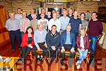 Reunion of the Gerald O'Mahoney Gym in Boherbue which has been in existence since 1961 and enjoying the reunion in Stokers Lodge on Friday night<br /> Seated l to r: Irene and Jimmy (founding member) O'Mahoney, Roy Guerin, Christy Switzer and Phil O'Mahoney.