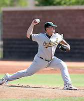 Justin Friend / Oakland Athletics 2008 Instructional League..Photo by:  Bill Mitchell/Four Seam Images