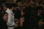 Tamara Falco, Isabel Preysler and Fernando Verdasco attends the Enrique Iglesias Concert at Barclayscard Center in Madrid, Spain. November 15, 2014. (ALTERPHOTOS/Carlos Dafonte)